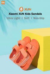 € 21 Xiaomi XUN Çocuk Sandalet için kupon ile Ultra hafif Yumuşak kaymaz Dayanıklı Açık Hava Etkinlikleri Spor Sandalet BANGGOOD dan