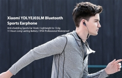$18 with coupon for Xiaomi YDLYEJ03LM In-ear Sports Earphone Bluetooth Earbuds Youth Edition – BLACK from GearBest