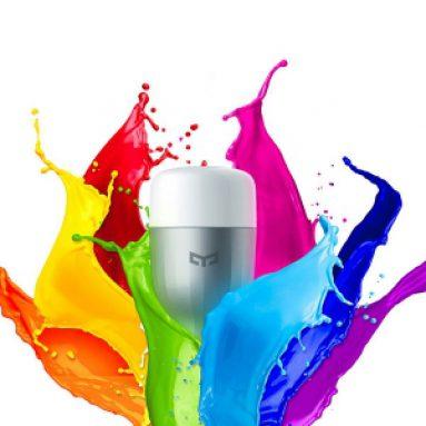 18% OFF, $ 17.99 cho Original Xiaomi Yeelight 9W RGB E27 Bóng đèn LED thông minh WIFI Remote Contro. Mã số: YeeRGB từ FASTBUY INC