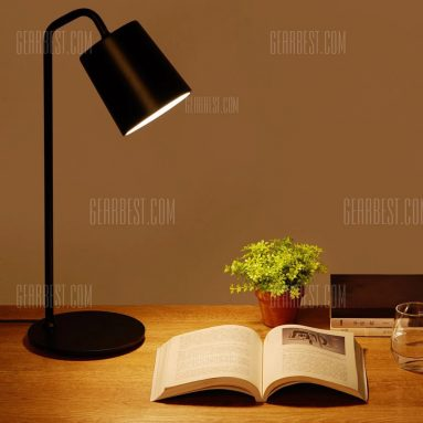 $20 with coupon for Xiaomi Yeelight Minimalist E27 Desk Lamp – BLACK from GearBest