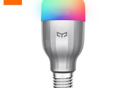 $17 with coupon for Xiaomi Yeelight YLDP02YL AC220V RGBW E27 Smart LED Bulb  –  SILVER from GearBest