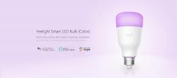 €13 with coupon for Xiaomi Yeelight YLDP06YL E26 E27 10W RGBW Smart LED Bulb Wifi App Control AC100-240V – E27 from BANGGOOD