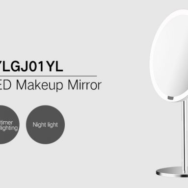€43 with coupon for Xiaomi Yeelight YLGJ01YL Portable LED Makeup Mirror with Light Dimmable Motion Sensor from BANGGOOD