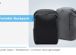 $34 with coupon for Xiaomi Youpin 90 FUN Portable Backpack – BLACK from GearBest
