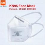 € 159/169 دولارًا مع قسيمة لـ 50pcs Xiaomi Youpin Anstar N95 Face Mask KN95 Anti Coronavirus Virus Respirator Anti-Foaming واقية من GEARBEST