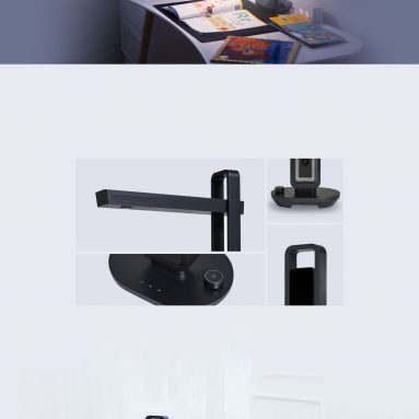 €270 with coupon for Xiaomi Youpin Intelligent Document Scanner Desk LED Lamp CZUR Aura File Books Scanner 4320*3240 Resolution 14 Million Pixel with Smart OCR for XP Mac Windows from BANGGOOD