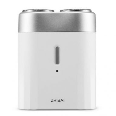 €17 with coupon for Xiaomi ZHIBAI SL201 Mini Poratable Electric Shaver Washable Wireless USB Charging Electric Razor Shaver from BANGGOOD