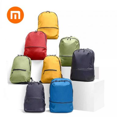 $6 with coupon for Xiaomi Zanjia Waterproof 11L Lightweight Backpack from GEEKBUYING