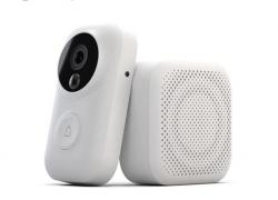 € 43 med kupon til Xiaomi AI Face Identification 720P IR Night Vision Video Dørklokke Set fra GEARVITA