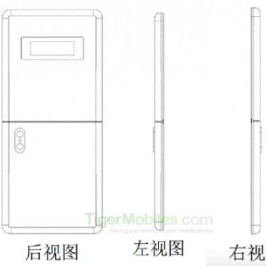 Patentovaný sklopný displej Xiaomi pre smartfóny prepustený
