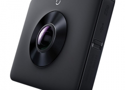 $239 with coupon for Xiaomi Mi Sphere 4K Panorama Action Camera – INTERNATIONAL VERSION BLACK from GearBest