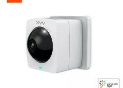 € 24 với phiếu giảm giá cho [Phiên bản trình cắm] Máy ảnh IP toàn cảnh thông minh Xiaovv A1 HD 1080P 360 ° AI Camera an ninh phát hiện hình ảnh màn hình chia đôi tầm nhìn hồng ngoại từ BANGGOOD