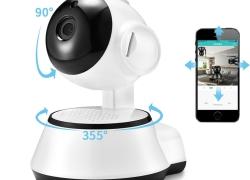 € 12 dengan kupon untuk Xiaovv Q6S Smart 360 ° PTZ Panoramic 720P Wifi Monitor Bayi H.264 ONVIF Kamera Keamanan Audio Dua Arah IP dari BANGGOOD