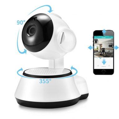 € 11 với phiếu giảm giá cho Xiaovv Q6S Smart 360 ° PTZ Màn hình bé Wifi toàn cảnh 720P H.264 ONVIF Camera IP bảo mật âm thanh hai chiều từ BANGGOOD