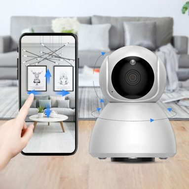 € 16 met kortingsbon voor Xiaovv Q8 HD 1080P 360 ° panoramische IP-camera Infrarood nachtzicht AI Bewegingsdetectiemachine Panoramische camera vanaf xiaomi youpin uit EU CZ-magazijn BANGGOOD