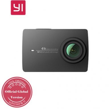 $139 with coupon for Xiaoyi YI 4K Action Camera II 2.19 Retina Screen Ambarella A9SE75 Sony IMX377 12MP 155‎ Degree Wide Angle 1400mAh EIS LDC Sport Camera International Version from GEEKBUYING
