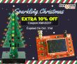 Sparkling Christmas With Extra 10% OFF Coupon For LED DIY Kits! from BANGGOOD TECHNOLOGY CO., LIMITED