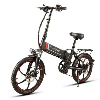 61% OFF for Samebike 20LVXD30 20 Inch Folding Electric Bike Power Assist Electric Bicycle from Cafago WW