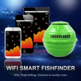 $5 Off Lucky Laker 125KHz Smart Sonar Wireless Wi-Fi Fishfinder 50M Depth Fish Finder Fish Detector for IOS for Android,free shipping $74.99(Code:LUCKY5) from TOMTOP Technology Co., Ltd