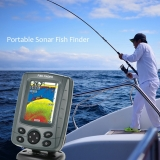 """$5 Off Portable 3.5"""" LCD Fish Finder Outdoor Fishing Sonar Sensor,free shipping $94.99(Code:SONAR5) from TOMTOP Technology Co., Ltd"""