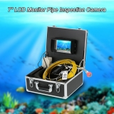 """$45 Off 7"""" LCD Monitor 960TVL CCD Pipeline Inspection Camera Waterproof Drain Pipe Sewer Inspection Camera,limited offer $240.49(Code:FISH45) from TOMTOP Technology Co., Ltd"""