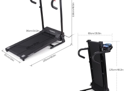 $30 OFF TOMSHOO Folding Electric Treadmill,free shipping $169.99(Code:TOMSHOW30) from TOMTOP Technology Co., Ltd
