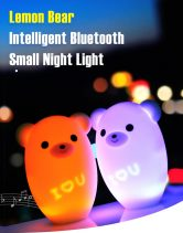€12 with coupon for YAOLAN Lemon Bear Intelligent Bluetooth Night Light from Gearbest