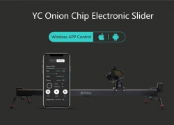 $219 with coupon for YC Onion Chips 1M Aluminum Motorized Bluetooth APP Control Slider Dolly Stabilizer from BANGGOOD