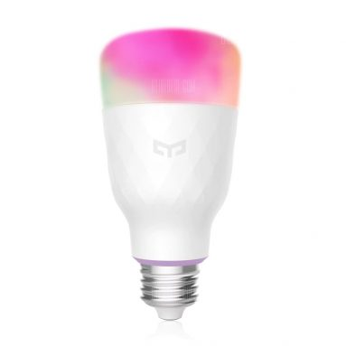 $16 with coupon for YEELIGHT YLDP06YL Smart Light Bulb 10W RGB E27  –  E27  WHITE from GearBest