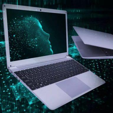 270 s kupónom pre YEPO i8 Laptop 15.6 palcový Blackit klávesnica i3 5005U Dual Core 8GB LPDDR3 256GB SSD - Silver od BANGGOOD