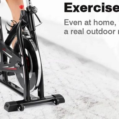 €155 with coupon for YS-S05 Indoor Cycling Stationary Exercise Bike with Resistance LCD Display from EU GER warehouse TOMTOP