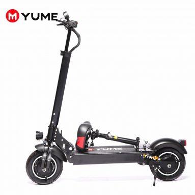 € 651 med kupon til YUME S10 48V 1000W 21AH 10-tommers dækfoldende elektrisk scooter 40-45 km / t Tophastighed 45-65 km Kilometertal 120 kg Maks. Belastning scooter fra EU CZ lager BANGGOOD