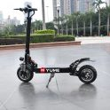 €716 with coupon for YUME YM-D5 52V 2400W Dual Motor 23.4Ah Folding Electric Scooter 65-70km/h Top Speed 80km Range Mileage 10inch Off-road Pneumatic Tire Max Load 200kg Scooter from BANGGOOD