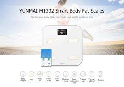€ 49 مع قسيمة لمقياس وزن YUNMAI M1302 بلوتوث الذكي - WHITE من GearBest