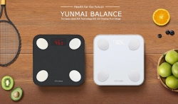 $34 with coupon for YUNMAI Mini 2 Balance Smart Body Fat Scale from Xiaomi – White EU warehouse from GearBest