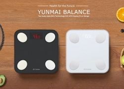 €36 with coupon for YUNMAI Mini 2 Balance Smart Body Fat Scale from Xiaomi – BLACK from GearBest
