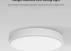$ 75 sa kupon para sa Yeelight 35W Nox Round Diamond Smart LED Ceiling Light mula sa GearBest