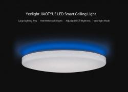 $ 159 dengan kupon untuk Yeelight JIAOYUE YLXD02YL 650 Sekitarnya Pencahayaan LED Lampu Langit-langit (Produk Ekosistem Xiaomi) - Kap Lampu Putih Starry EU WAREHOUSE dari GEARBEST