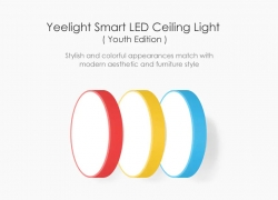 $68 with coupon for Yeelight Smart LED Ceiling Light 320 28W AC 220V – WHITE With Remote Control from GearBest