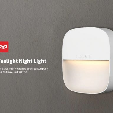 $3 with coupon for Yeelight Square Night Light ( Xiaomi Ecosystem Product ) from GEARBEST