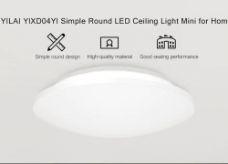 $18 with coupon for Yeelight YILAI YlXD04Yl Simple Round LED Ceiling Light Mini for Home from GearBest