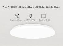 $ 64 с купоном для Yeelight YILAI YlXD05Yl 480 Простой круглый светодиодный смарт-потолочный светильник для дома от GearBest