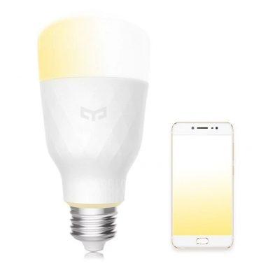 € 10 με κουπόνι για Xiaomi Yeelight YLDP05YL E27 10W ζεστό λευκό για Daywhite έξυπνο LED λαμπτήρα Wifi έλεγχος εφαρμογής AC100-240V από BANGGOOD