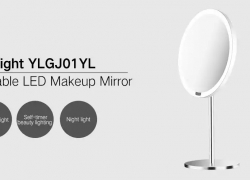 $46 with coupon for Yeelight YLGJ01YL Portable LED Makeup Mirror with Light from Gearbest