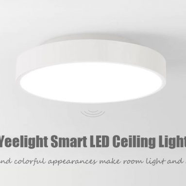 €53 with coupon for Yeelight YLXD01YL 320 28W Smart LED Ceiling Light AC 220V – WHITE WITH REMOTE CONTROL EU warehouse from GearBest