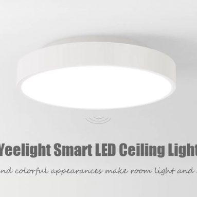 57 € với phiếu giảm giá cho Yeelight YLXD01YL 320 28W Đèn trần LED thông minh AC 220 V - TRẮNG VỚI ĐIỀU KHIỂN TỪ XÁC Kho EU từ GearBest