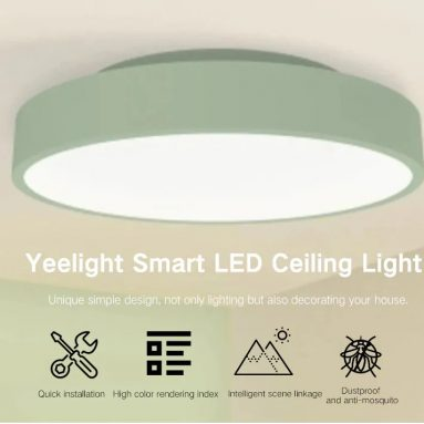 $79 with coupon for Yeelight YLXD01YL Simple Round Shape Smart LED Ceiling Light from GearBest