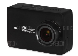 $193 FLASHSALE for Original YI II International Version WiFi 4K Sports Action Camera 155 Degrees Wide Angle BLACK from GearBest