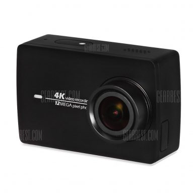 $180 with coupon for Original Xiaomi YI II International Version WiFi 4K Sports Action Camera 155 Degrees Wide Angle Black from GearBest