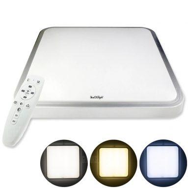 $ 29 con cupón para Youoklight 1PCS 24W 110-220V 4 Mode Control remoto atenuación Lámpara de techo LED No incluye batería - MULTI de GearBest